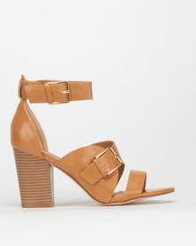 Madison Gina Heels Tan