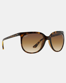 Ray-Ban Light Havana Cats 1000 Sunglasses