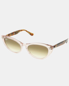 Ray-Ban Nina Sunglasses Trans Light Brown