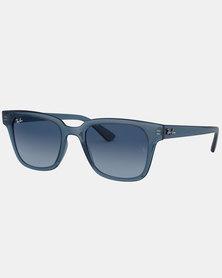 Ray-Ban RB4323 Sunglasses Transparent/Dark Blue