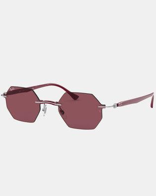 Ray-Ban RB8061 Sunglasses Red