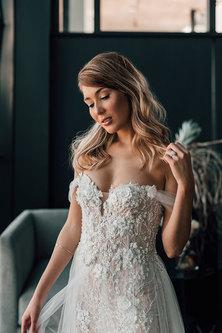 Janita Toerien Mulan Spanish Pink Fitted Wedding Dress