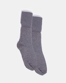 Schoolwear SA Boys 2 Pk School Socks Grey