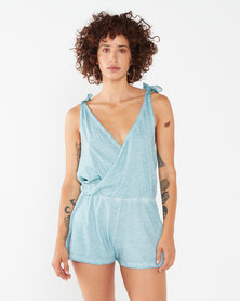 Lizzy Janna Playsuit Blue