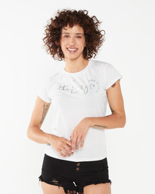 Lizzy Karli Tee Light Grey