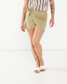 Lizzy Cacia Skirt Green
