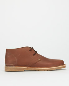 Grasshoppers Brent Denver Lace Ups Oatmeal GH