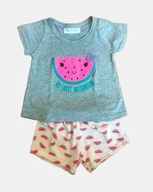 Cotton Club Kids Watermelon Pyjamas