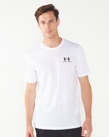 Under Armour Sportstyle Left Chest Short Sleeve Tee  Multi