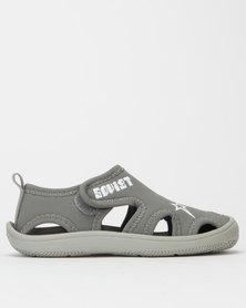 Soviet Boys K Ramba Closed Sandals Light Grey