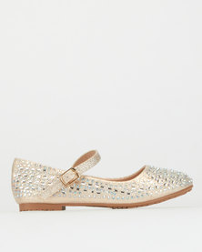 Rock & Co Liandri Pumps Champagne