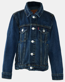 Little Boys (4-7) Trucker Jacket