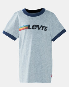 Little Boys (4-7) Graphic Logo Ringer Tee
