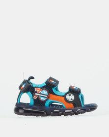 Bubblegummers Boys Sandals Shoes Navy