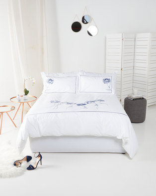 Utopia Barbara's Ballet Duvet Cover Set White