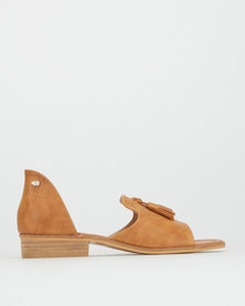 Miss Black Easter Sandals Tan