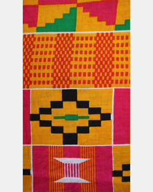 Zathu Accessories Kente African Print Accra Turban