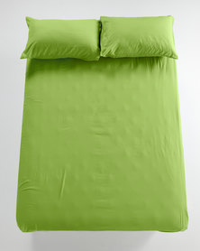 Utopia Fitted Sheet Green
