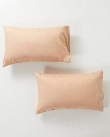 Utopia Pillow Case Set Taupe