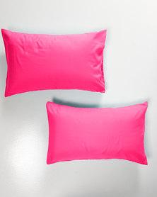 Utopia Pillow Case Set Cerise