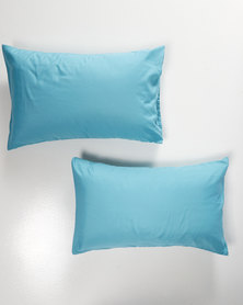 Utopia Pillow Case Set DuckEgg