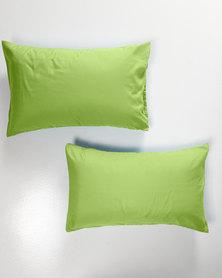 Utopia Pillow Case Set Green