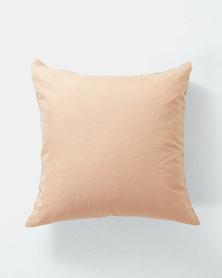 Utopia Pillow Case Single Taupe