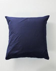 Utopia Pillow Case Single Navy