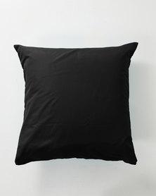 Utopia Pillow Case Set Black
