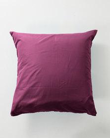 Utopia Pillow Case Single Purple