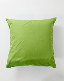 Utopia Pillow Case Single Green