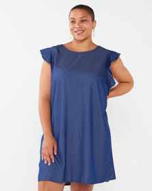 Utopia Plus Viscose Tunic Denim