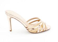 LaMara paris Villa Rossa slip on heels rose gold