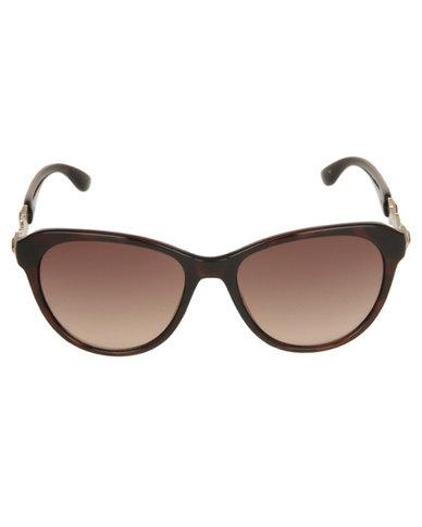 e456379dc1 Guess Cat Eye Sunglasses Brown