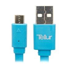 Tellur MicroUSB Flat Data Cable 100cm