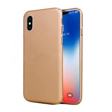 Tellur Super slim cover for iPhone X / XS- Gold