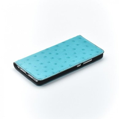 Bookcase Magnetic Tellur Huawei P10 Plus Ostrich Leather Turquoise
