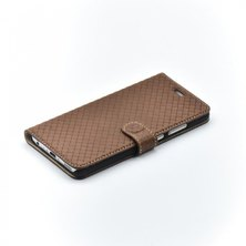 Bookcase Tellur Huawei P10 Cross Leather Brown