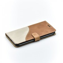 Tellur Book Case  Genuine Leather Wave for Samsung S7 Edge