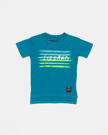 Lizzard Pre- Boys Corso Short Sleeve Tee Blue