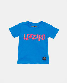 Lizzard Pre- Boys Wolsey Short Sleeve Tee Blue