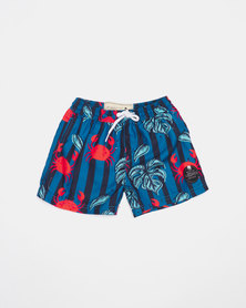 Lizzard Pre-Boy Crabster Shorts Blue