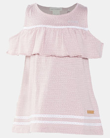Lizzy Pre- Girls Emalee Dress Pink
