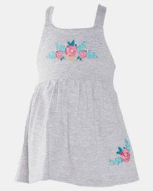 Lizzy Pre- Girls Alula Dress Grey