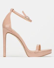 Steve Madden Milano Heels Blush Patent