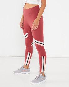 Nike Performance W Nike One Icon CLSH TP 7/8 TG Leggings Multi