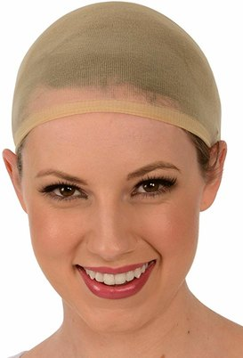 Blkt Stocking Wig Cap Natural Color 2Pcs 2xPack