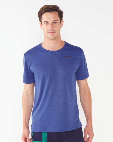 Nike Performance M NK Dry Superset Short Sleeve Top Multi