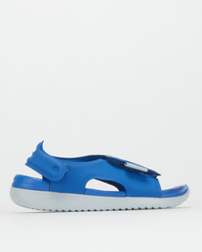 Nike Boys Game Sunray Adjust Sandal Royal Blue
