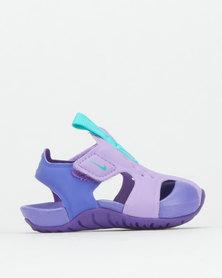 Nike Girls Nike Sunray Protect Sandals Atomic Violet